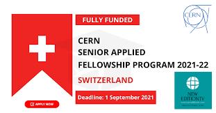 SENIOR APPLIED FELLOWSHIP PROGRAM 2021-22 IN SWITZERLAND [FULLY FUNDED]
