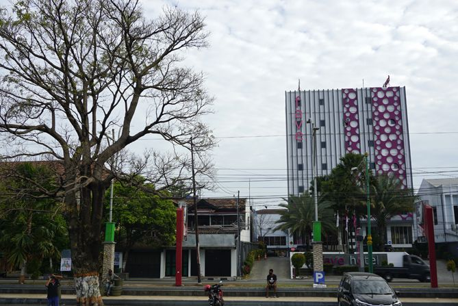 Fave Hotel Rembang di seberang Alun-alun Kota Rembang