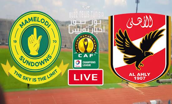 Match  Al Ahly vs Mamelodi Sundowns  Live Streaming