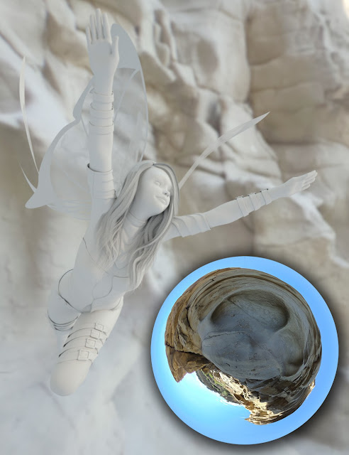 Fairy Scale IBL - Desert Dweller HDRI Environments