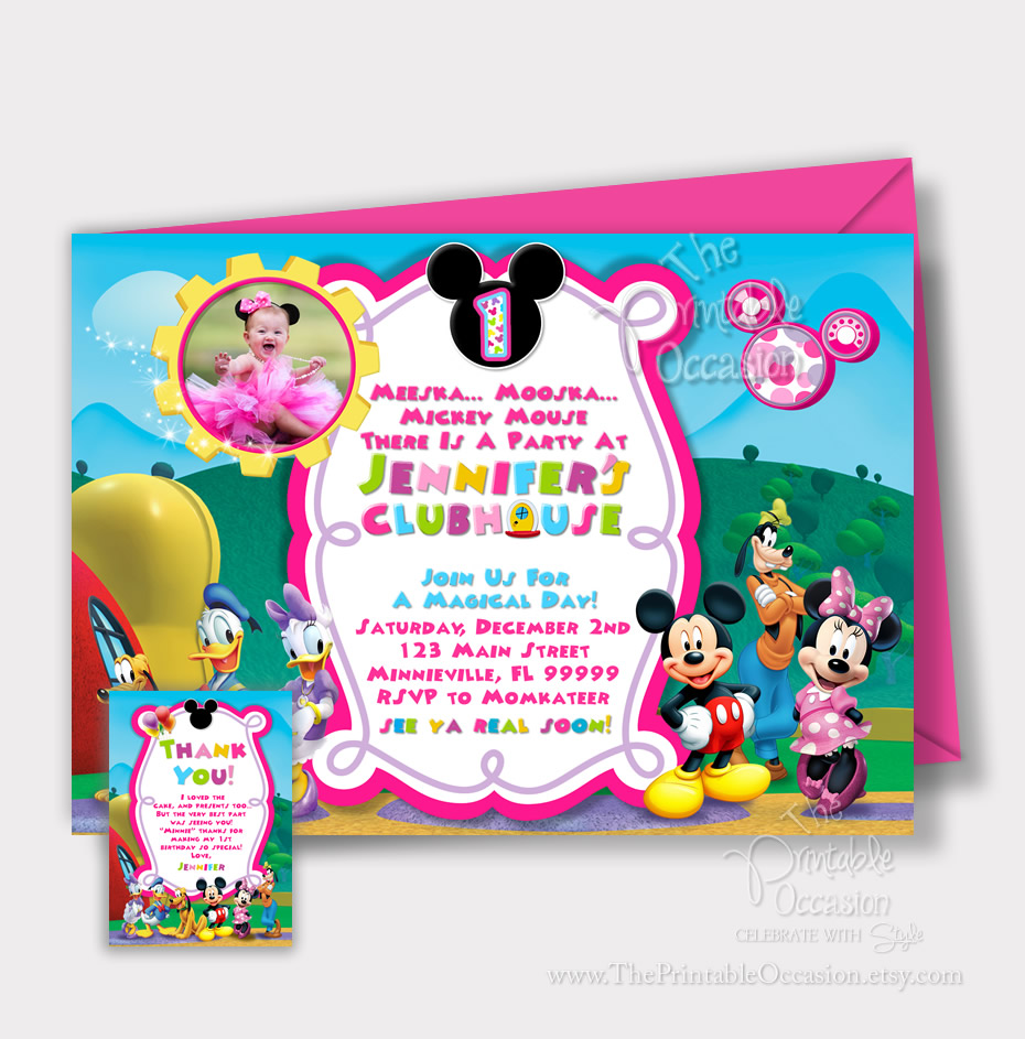 The Printable Occasion - Party Printables: MINNIE MOUSE CLUBHOUSE ...