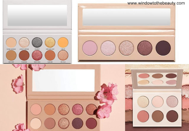 Kkw Beauty nude palettes