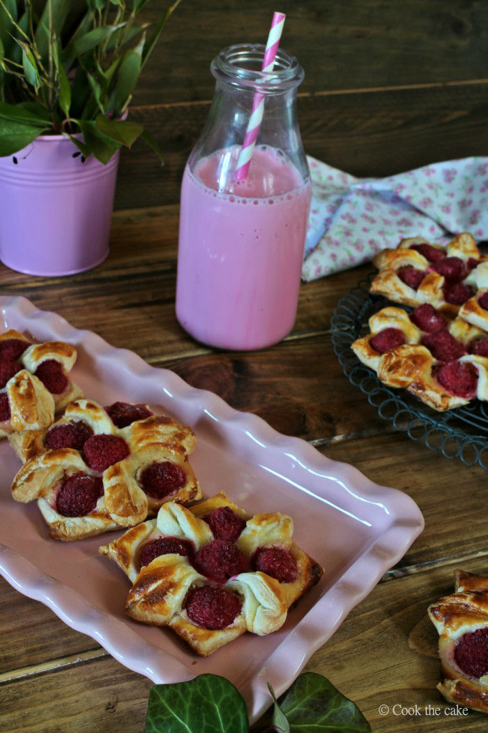 hojaldre-con-frambuesas, puff-pastry, raspberry-puff-pastry