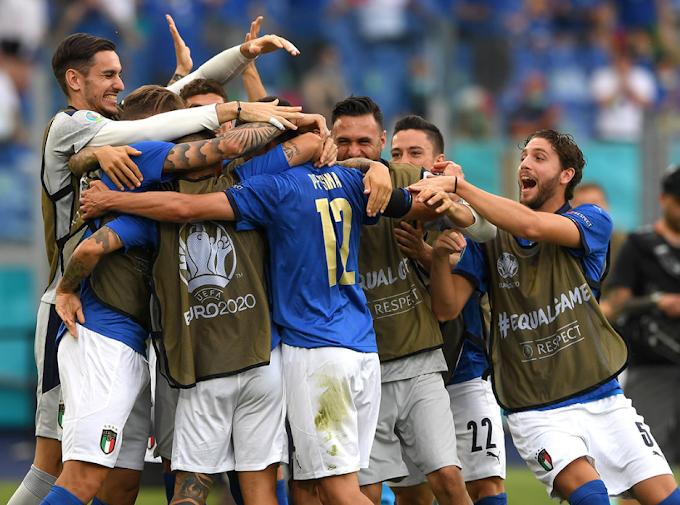 Italia-Galles 1-0: gli azzurri volano agli ottavi, primo posto nel girone