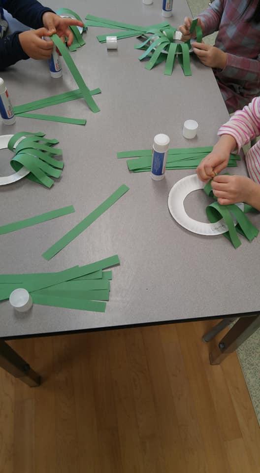 Christmas trees kindergarten worksheets