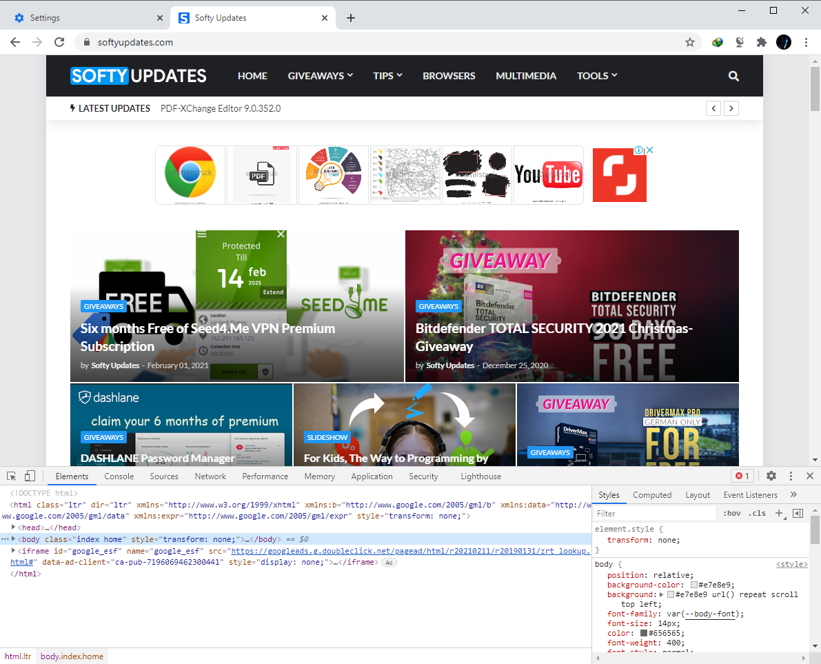 Google Chrome Browser 88.0.4324.190