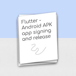 flutter release apk