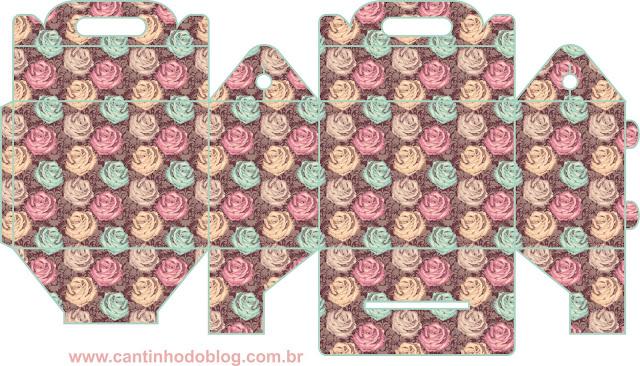 Kit de Rosas de Colores para 15 Años para Imprimir Gratis.