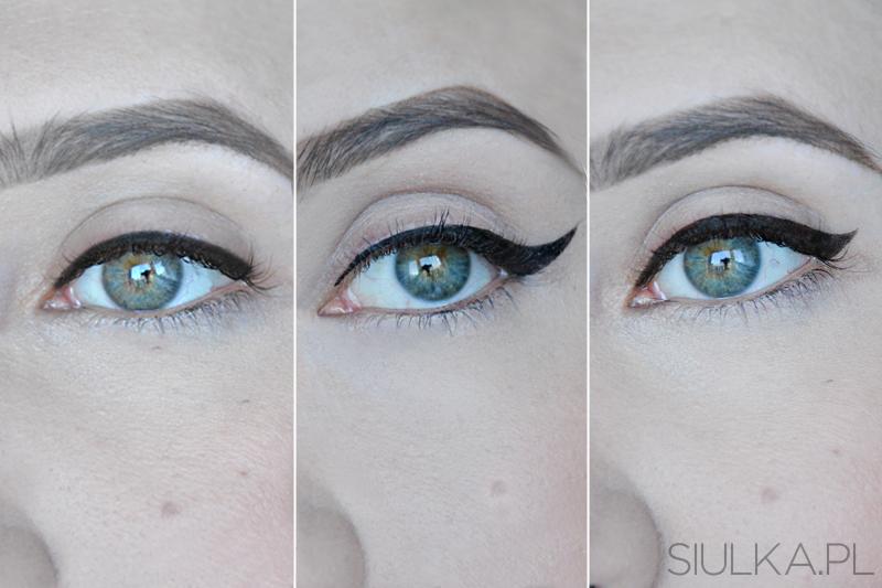 jak zrobić kreski eyelinerem
