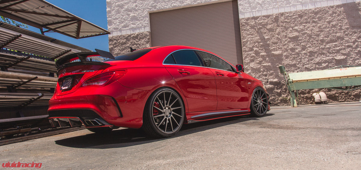 2014 mercedes cla45 amg by vivid racing benztuning. Black Bedroom Furniture Sets. Home Design Ideas