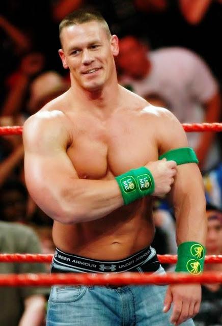 WWE Superstar John Cena Diet Plan and Workout Routine