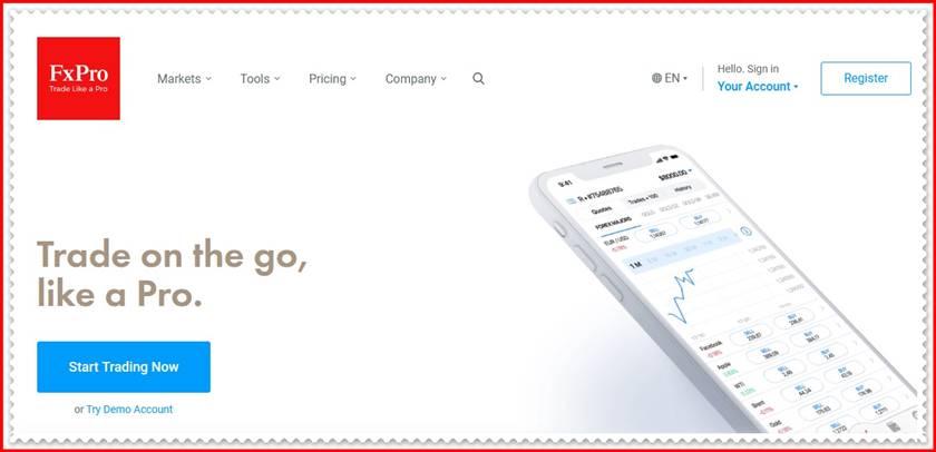 Мошеннический сайт fxpro.com – Отзывы? FxPro Group Limited Мошенники!