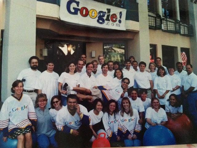 Kantor Google 1999 Sergey Brin dan Larry Page Duet Hebat Penemu Google