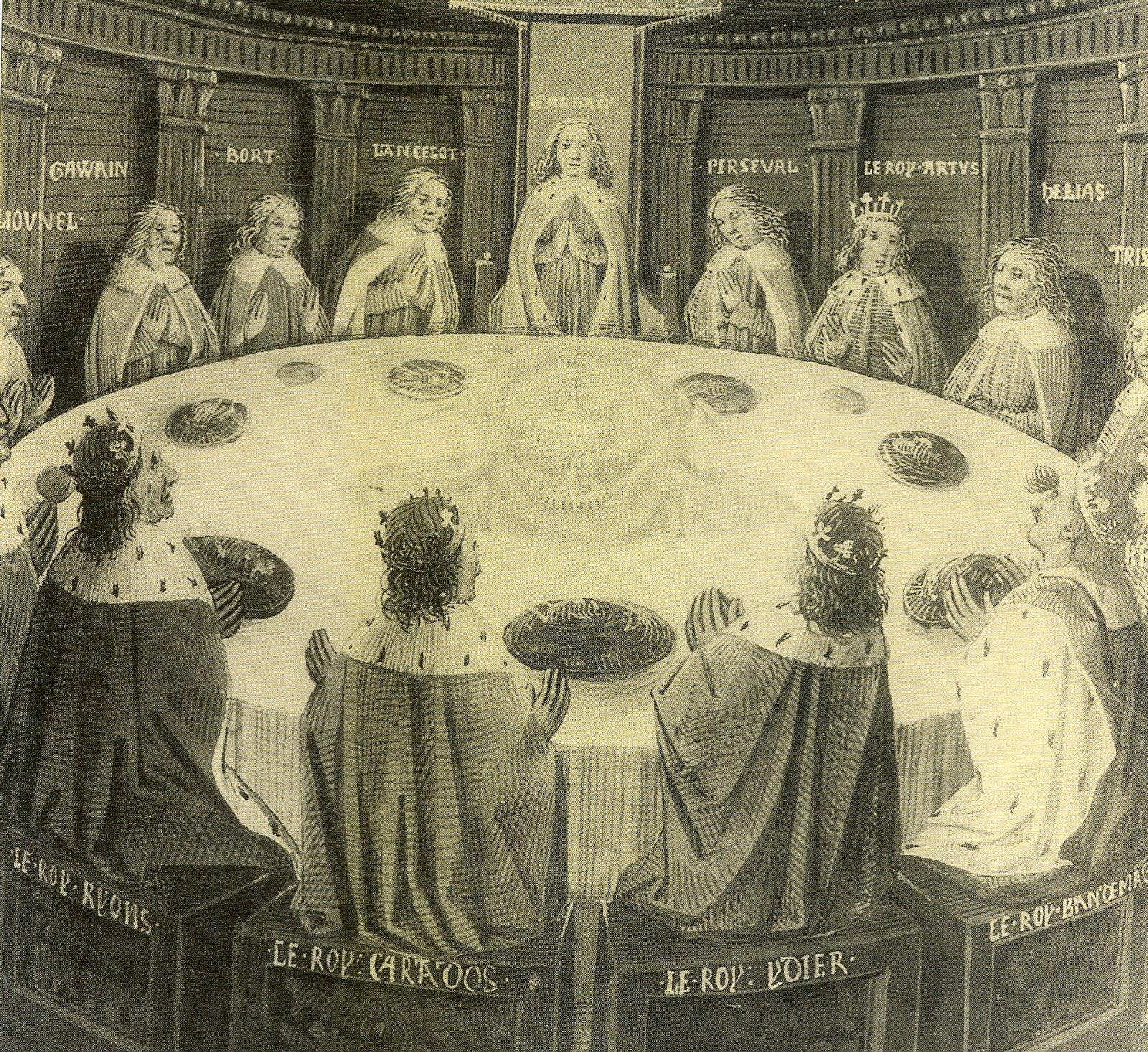 De qua e de la il santo graal parte seconda - Re artu ei cavalieri della tavola rotonda libro ...
