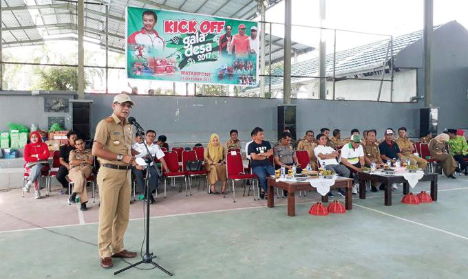 Gala Desa 2017, Kabupaten Bone