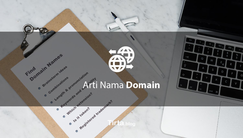 Arti Nama Domain