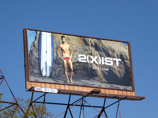 2Xist swimwear Spring 2016 billboard