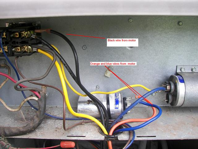 Fan Capacitor Connection Diagram As It Is A Capacitor Start Capacitor