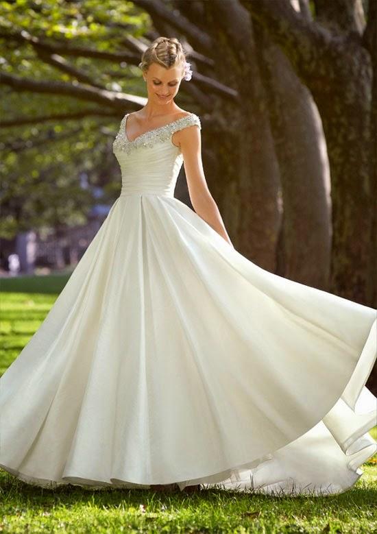 Bí quyết chọn váy cưới cho dáng người cô dâu phù hợp