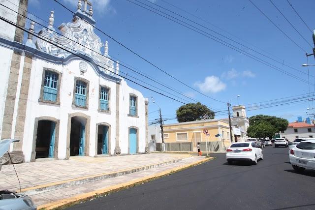 Prefeitura atua em diversas frentes para revitalizar o Centro Histórico de Natal