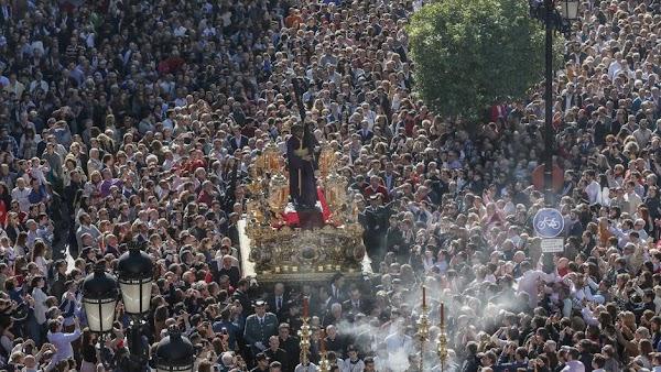 Horario e Itinerario Procesión Extraordinaria del Gran Poder del Regreso a su Basílica. Sevilla 06 de Noviembre del 2021