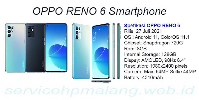 Spefikasi+Oppo+Reno6+Lte+4G+RAM+8GB+ROM+128+GB
