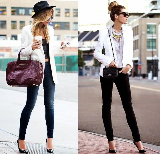 6902da90a3 Siempre ten en tu guarda ropa un pantalón negro y blanco de tubo o ligeramente  recto  este tipo de pantalón no falla