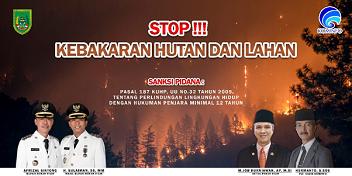 Iklan KOMINFO Kab.Rokan Hilir dan Stop Karhutla
