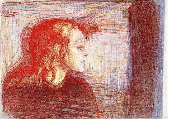 Эдвард Мунк - Больной ребенок. 1896