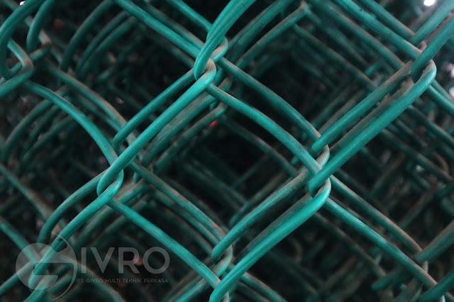 Kawat Harmonika PVC Untuk Lapangan Olah Raga Indoor Dan Outdoor