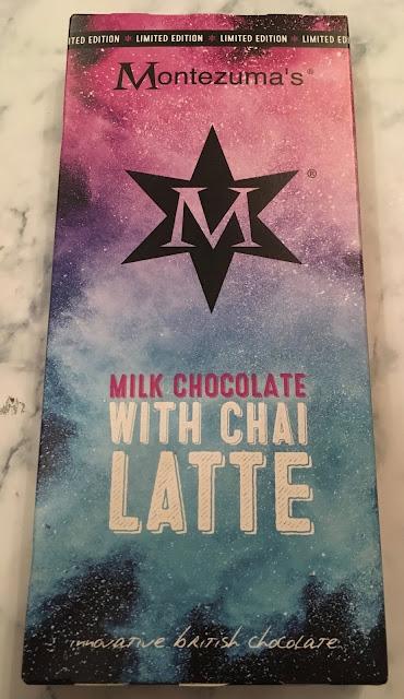 Montezuma's Milk Chocolate with Chai Latte
