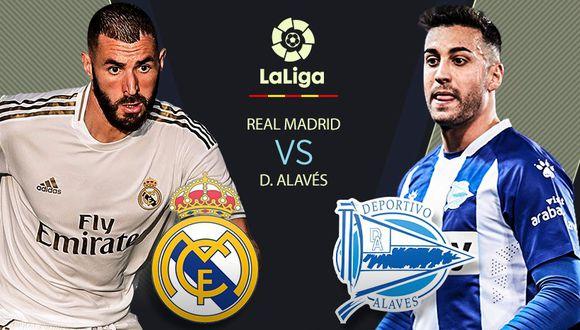 Real Madrid vs Alavés: se miden AHORA por la fecha 35 de LaLiga Santander desde el Di Stéfano
