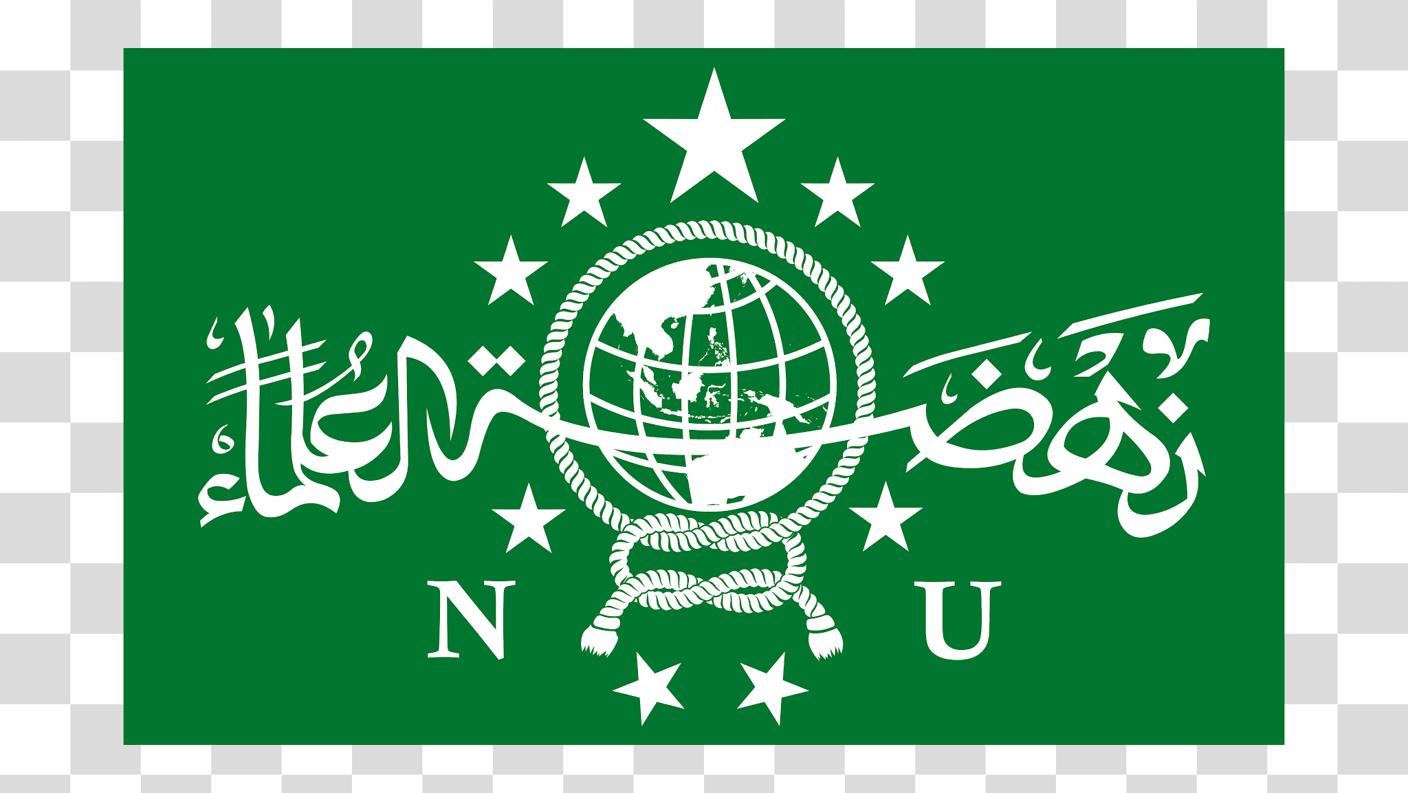 Bendera NU (Nahdlatul Ulama) PNG Transparent Image