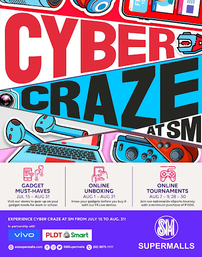 CYBER CRAZE AT SM BULACAN MALLS