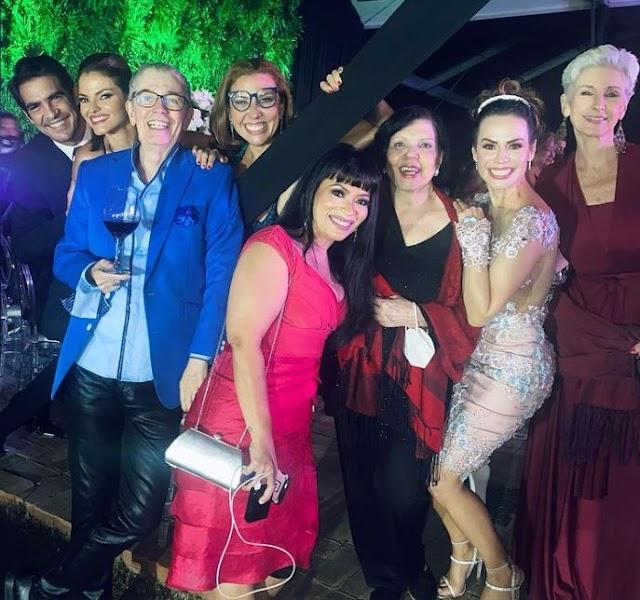 CÓMO ASÍ | Rosario Prieto tuvo un ACV hace días y estuvo bailando en la boda de Danielita Alvarado