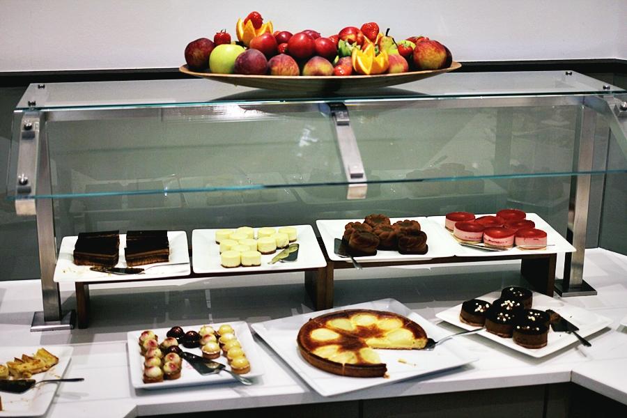 cake buffet hilton luxembourg