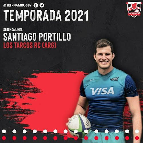 Santiago Portillo nuevo refuerzo de Selknam