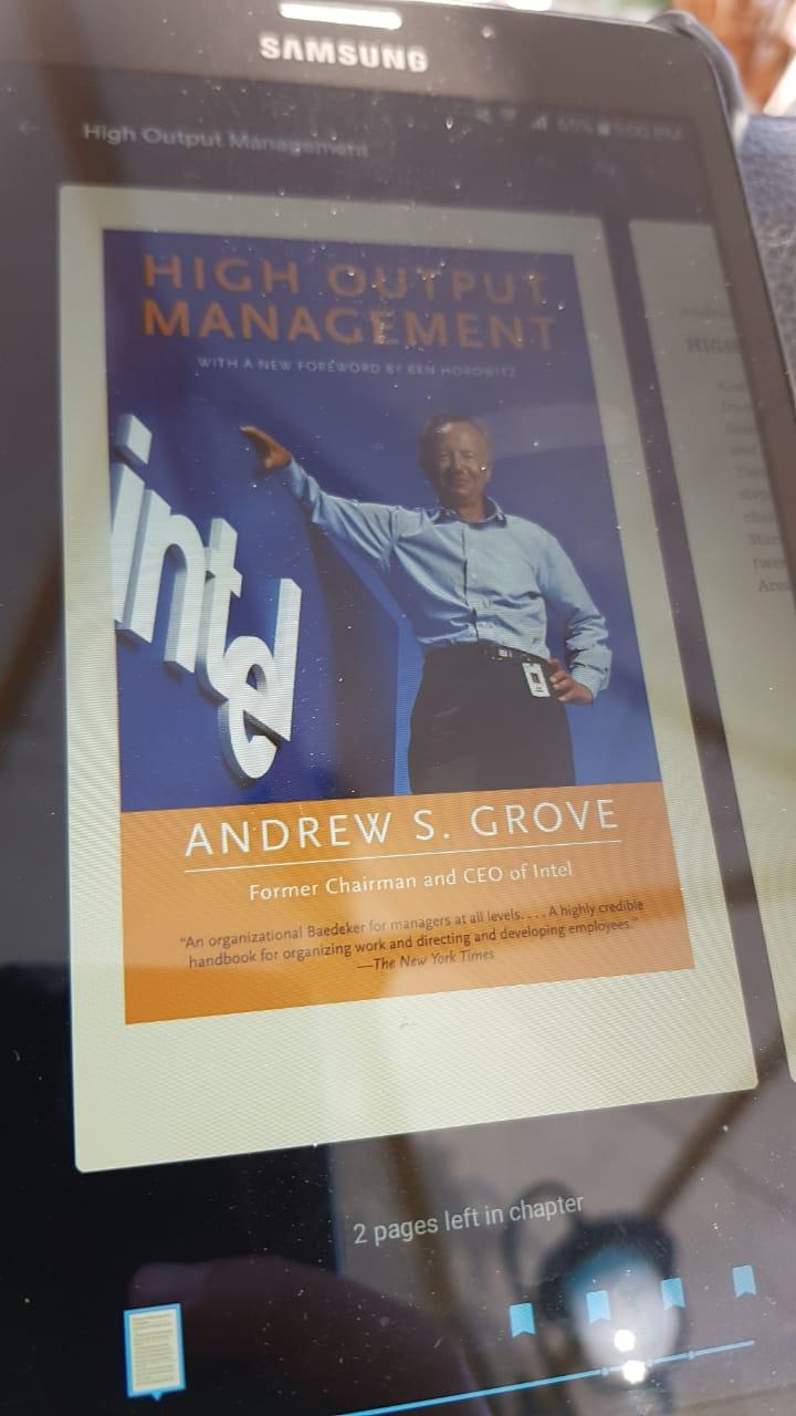 Buku High Output Management