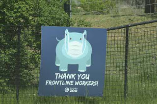 Thank You Frontline Workers.  Thank You Toronto Zoo.