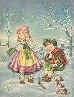 FIOCCHI BIANCHI......la neve scende leggera