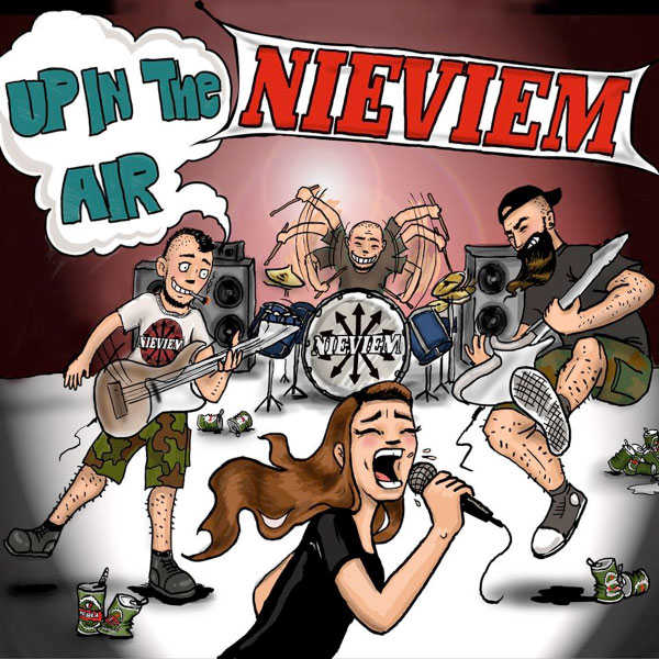 """Nieviem stream new EP """"Up In The Air"""""""