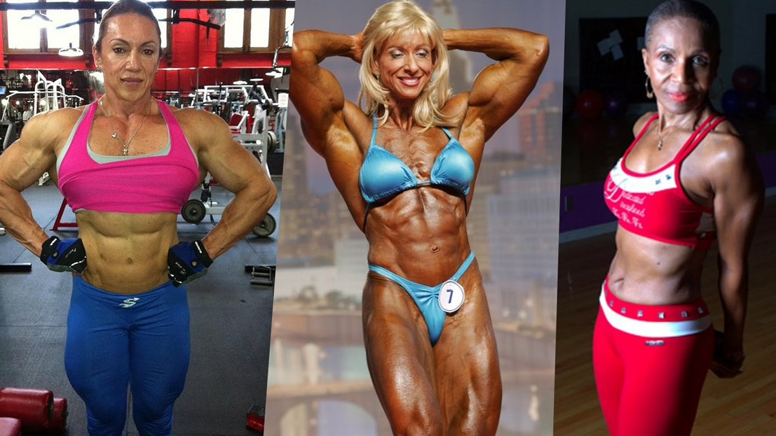 Clip Oldest Female Bodybuilders