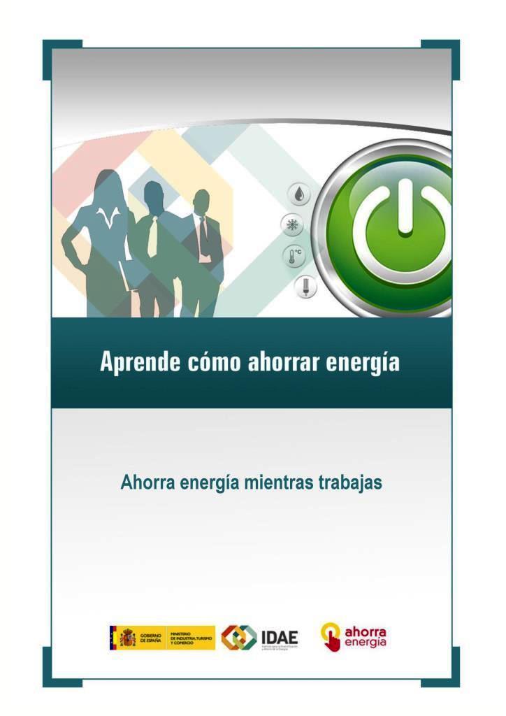 Ahorra energía mientras trabajas