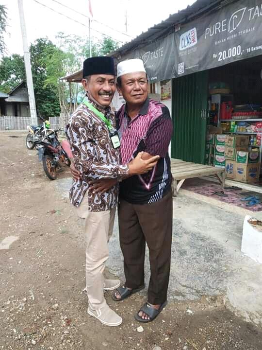 Bertandang Ke Markas H. Syamsudin, Adi Mahyudi Disambut Hangat Dan Mesrah