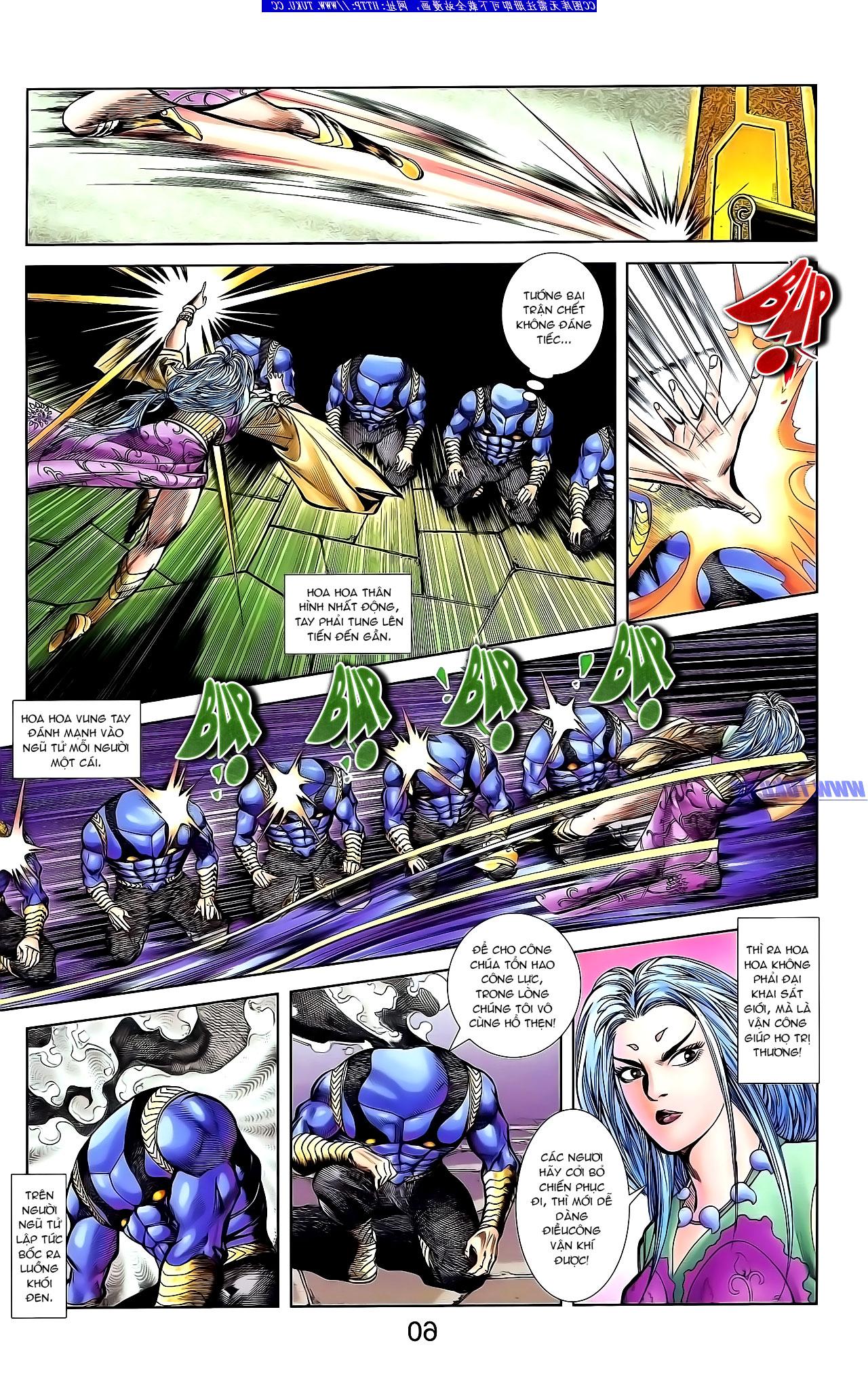 Cơ Phát Khai Chu Bản chapter 134 trang 12
