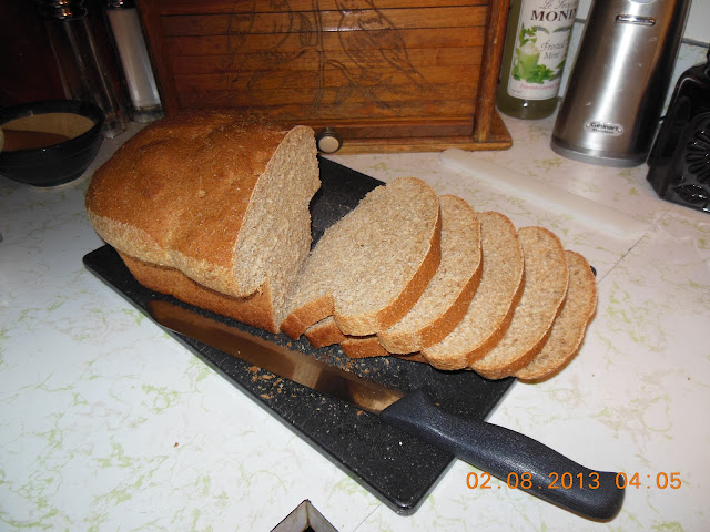 Whole Wheat and Honey Sandwich Bread, come on, make a sandwich!