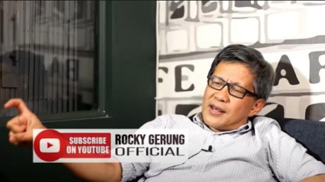 Soroti Persidangan HRS, Rocky Gerung: Dia Jadi Umpan Rezim yang Panik