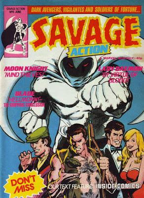 Savage Action #8, Moon Knight