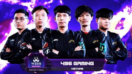 Hành trình của 496 Gaming tại WESG 2019 vẫn chưa khép lại