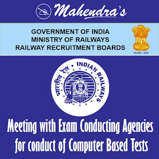 RRB | Meeting with ECA for conduct of CBT